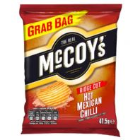 McCoys thick cut Crisps.  36 x 47.5g Mexican Chilli